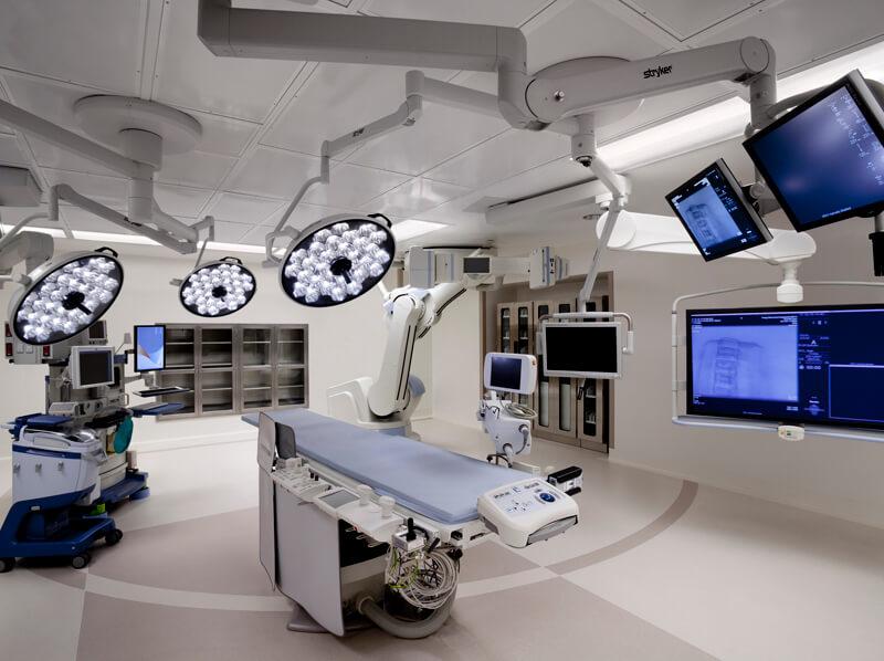 Hybrid Cardiovascular Surgical Suite Hoag