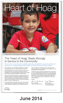 Heart of Hoag First Edition